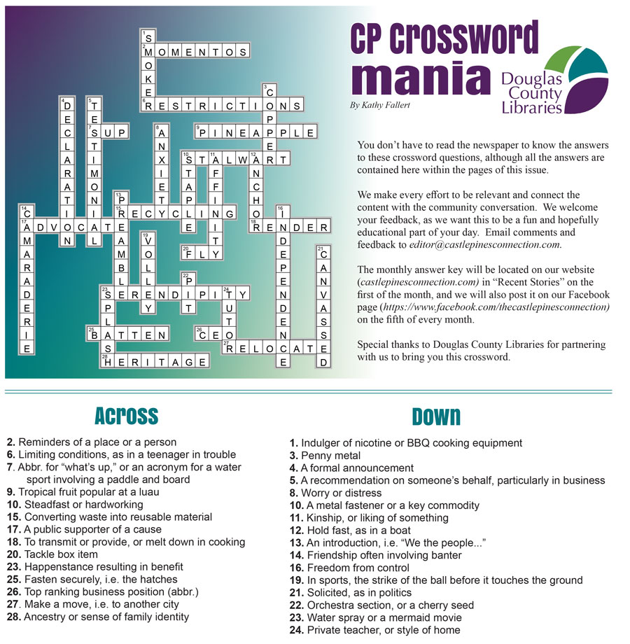July crossword puzzle