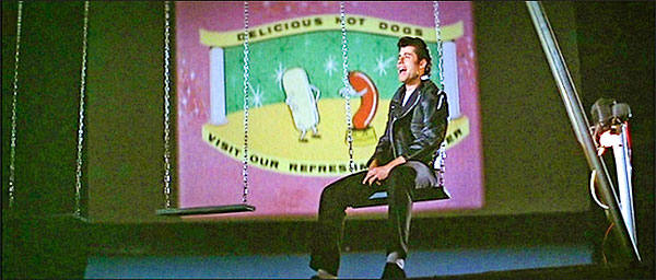 """Photo of Danny Zuko, played by actor John Travolta in the movie """"Grease,"""""""