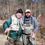 Photo of Bill Barclay who has the privilege and joy of working with Patriot Anglers