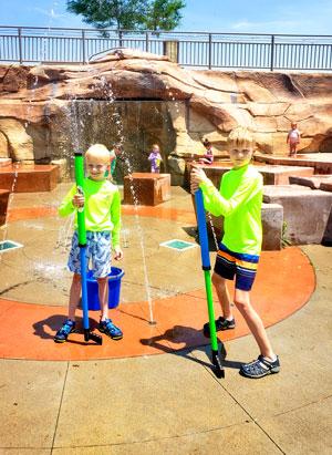 Kids at Elk Ridge Park