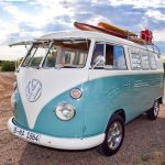 Photo of front 1965 VW bus