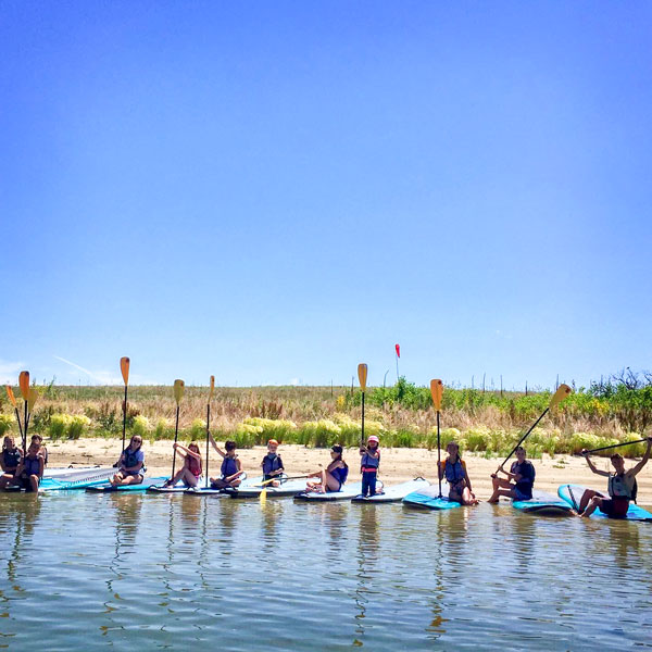Photo of DCS Montessori camppaddling