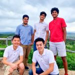 Photo left to right top row: Nihaar Gupta, Naman Kapasi and Nandan Murugesan; bottom row: Derek Chen and Charlie Fu.