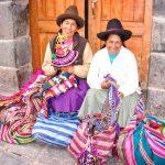 Photo of crafters in Peru