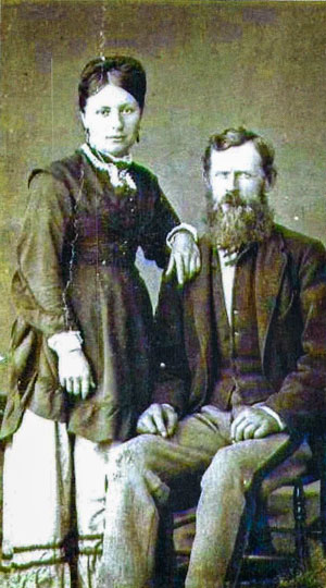 Photo of George and Sarah Nickson
