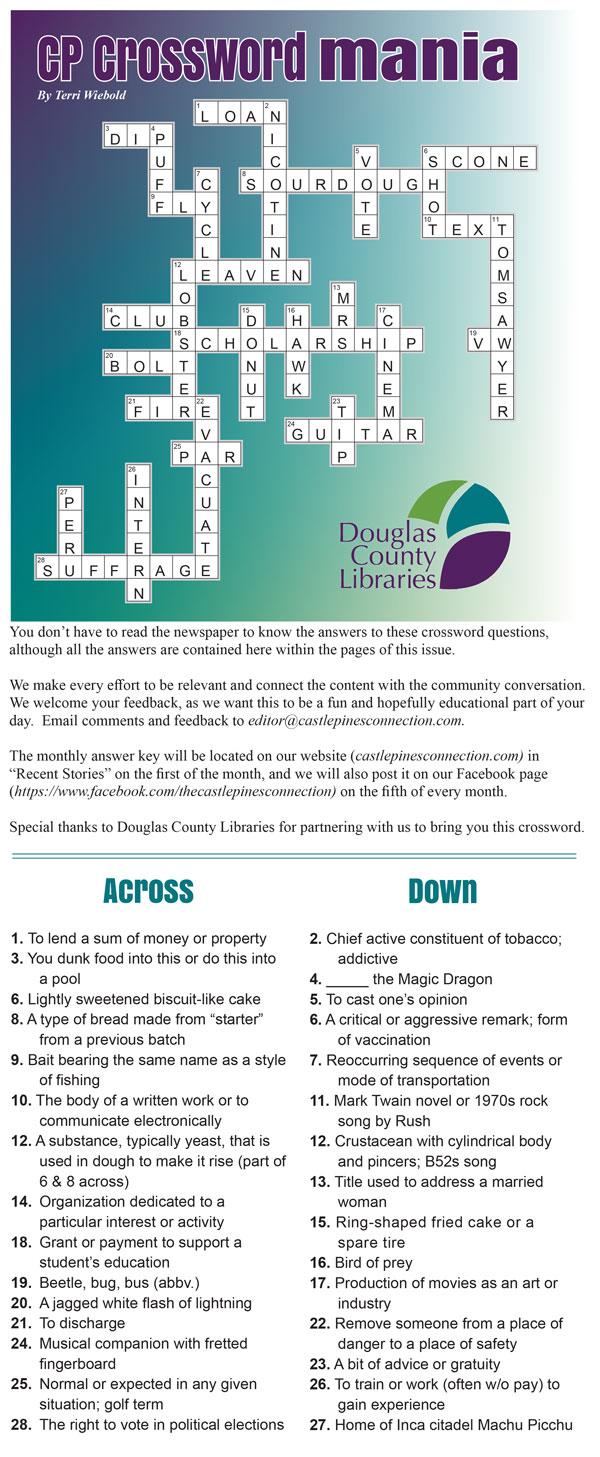 AUG 2020 crossword