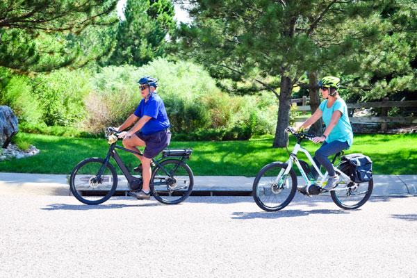 Photo of Richardson's cycling