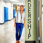 Photo of Christy Kloter's leadership classroom is open and ready