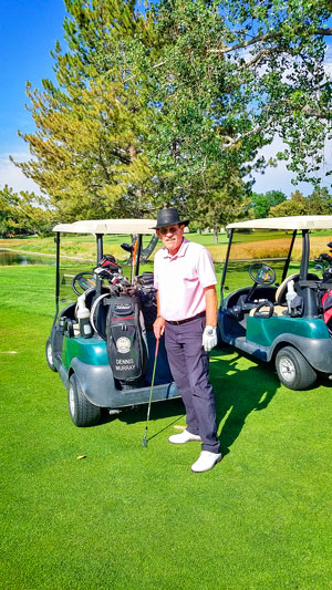 Photo of Dennis Murray winner of the 2020 Colorado PGA Pioneer Open