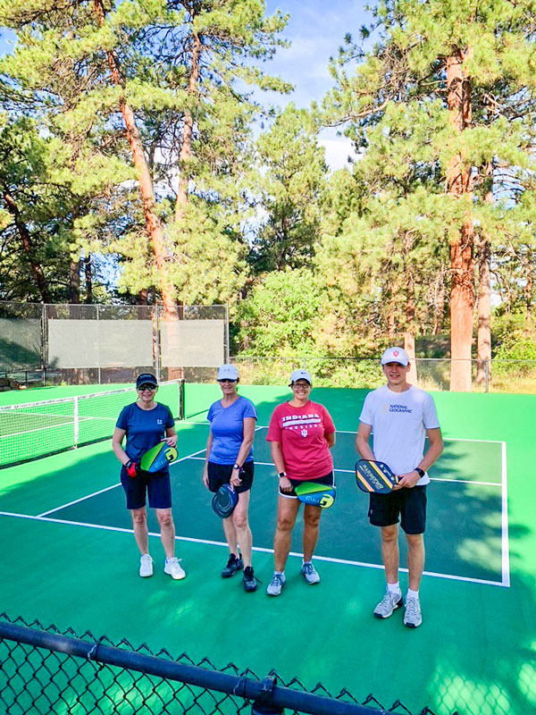 Photo of pickleball players