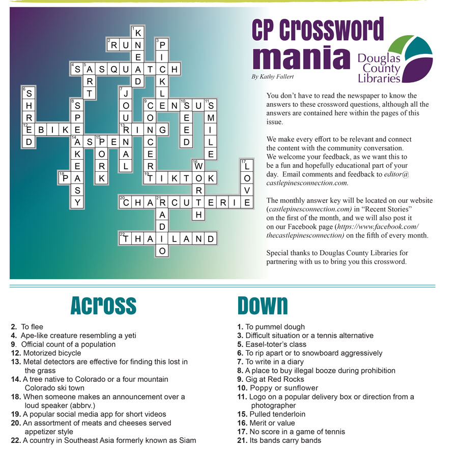 September Crossword