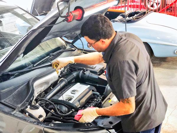 Photo of car repair