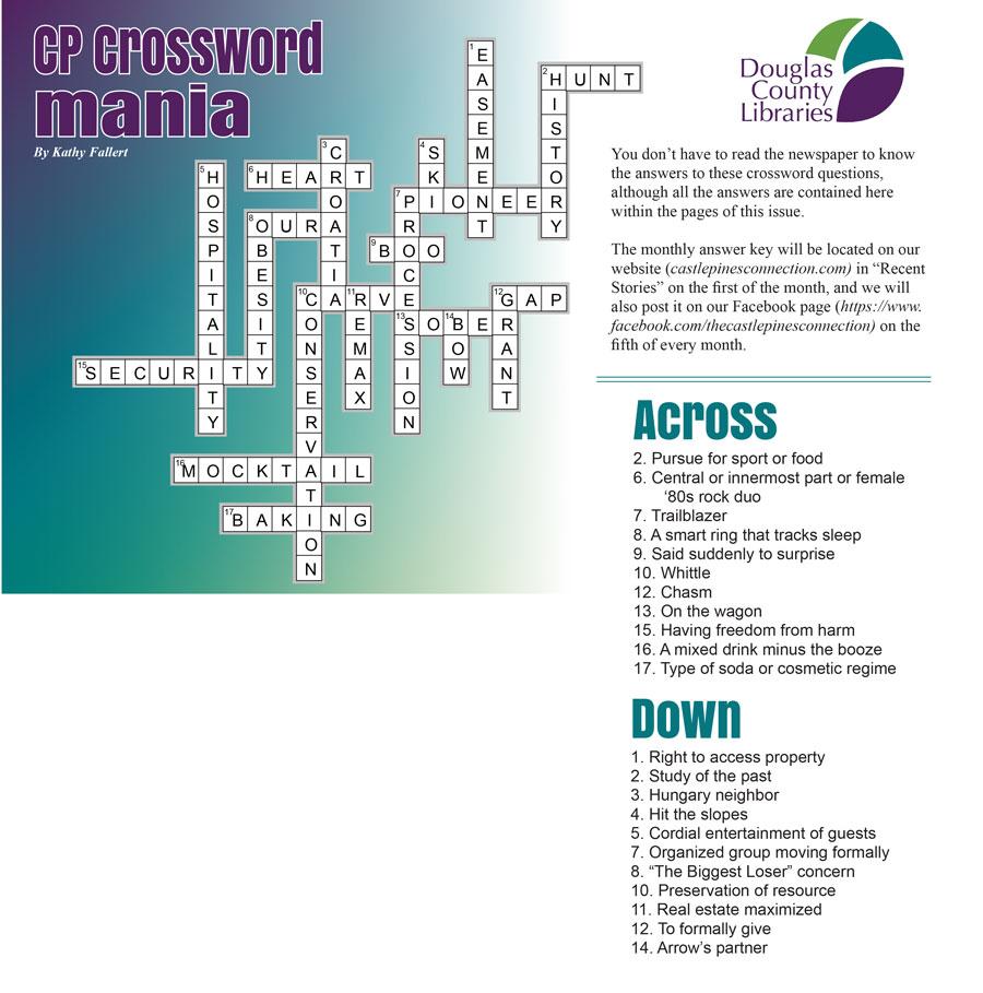 October Crossword