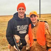 Photo of Jon Landis and son Johnny