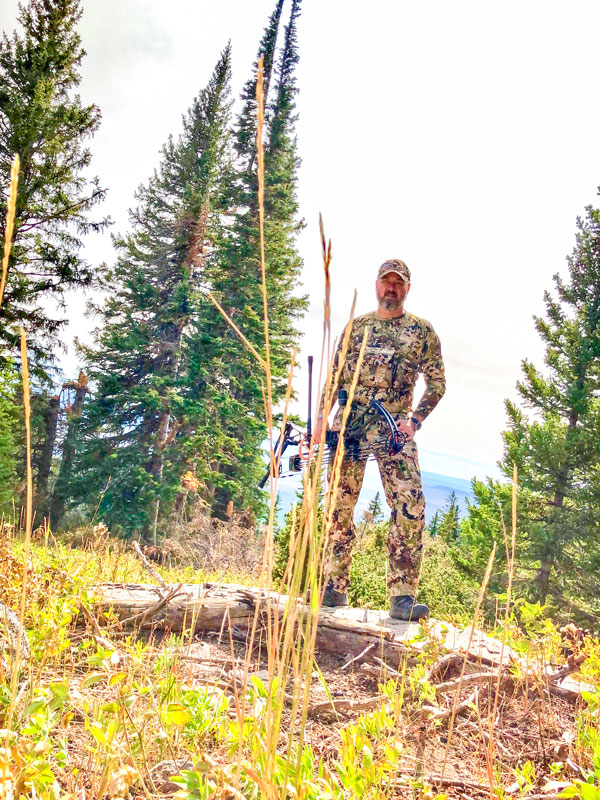 Photo of Kevin Rants, bow hunter and Castle Pines councilman