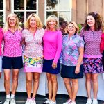 Photo of ladies Nine in the Pines 9-Hole Golf