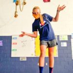 Photo BRE's new PE teacher Kelli Weinrich