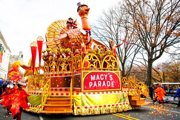 Photo of Macy's float