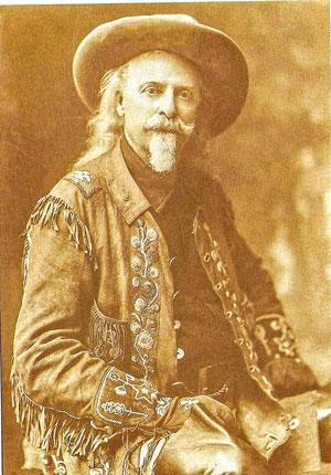 Old photo of Buffalo Bill Cody