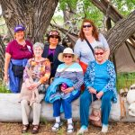 Photo of Debbi Haynie's favorite activities – hosting a senior mystery trip