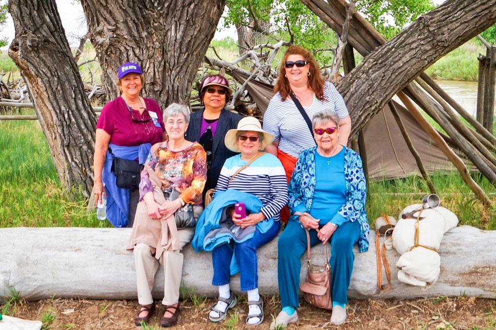 Photo of Debbi Haynie's favorite activities – hosting a senior mystery trip