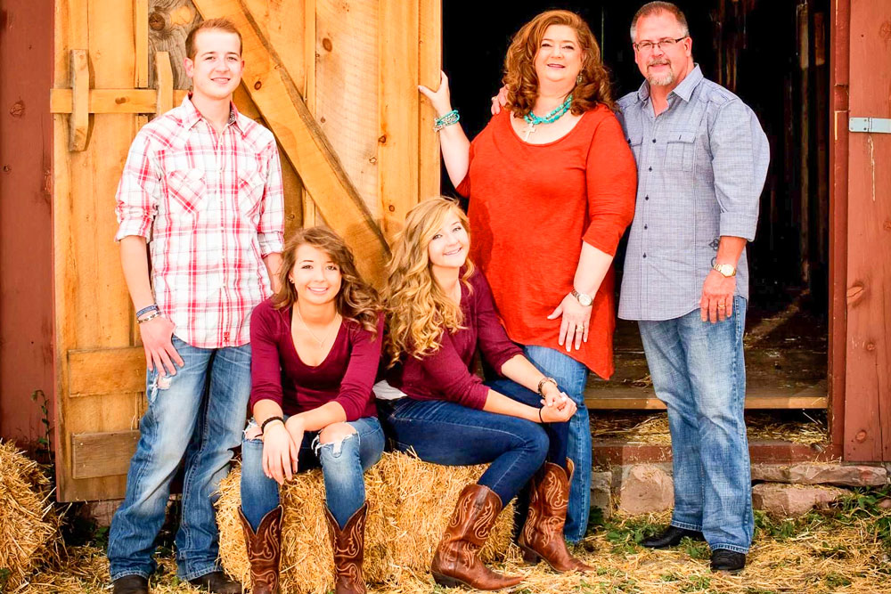 Photo of the Haynie family