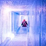 Photo of sliding through chilly tunnels of ice