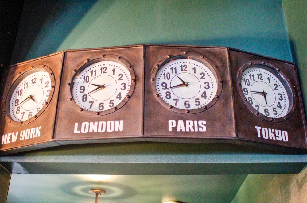 Photo of railroad memorabilia