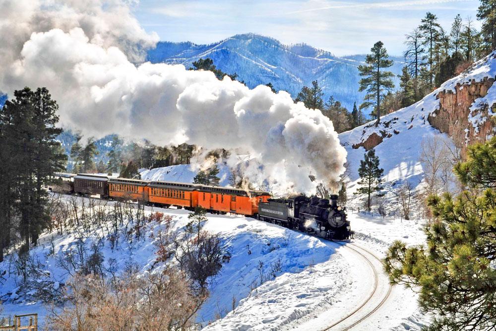 DuranGO Silverton train