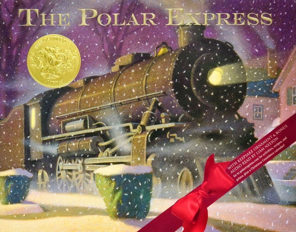 Photo of cover of The Polar Express Book