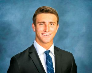 Photo of student athlete Trevor Wright