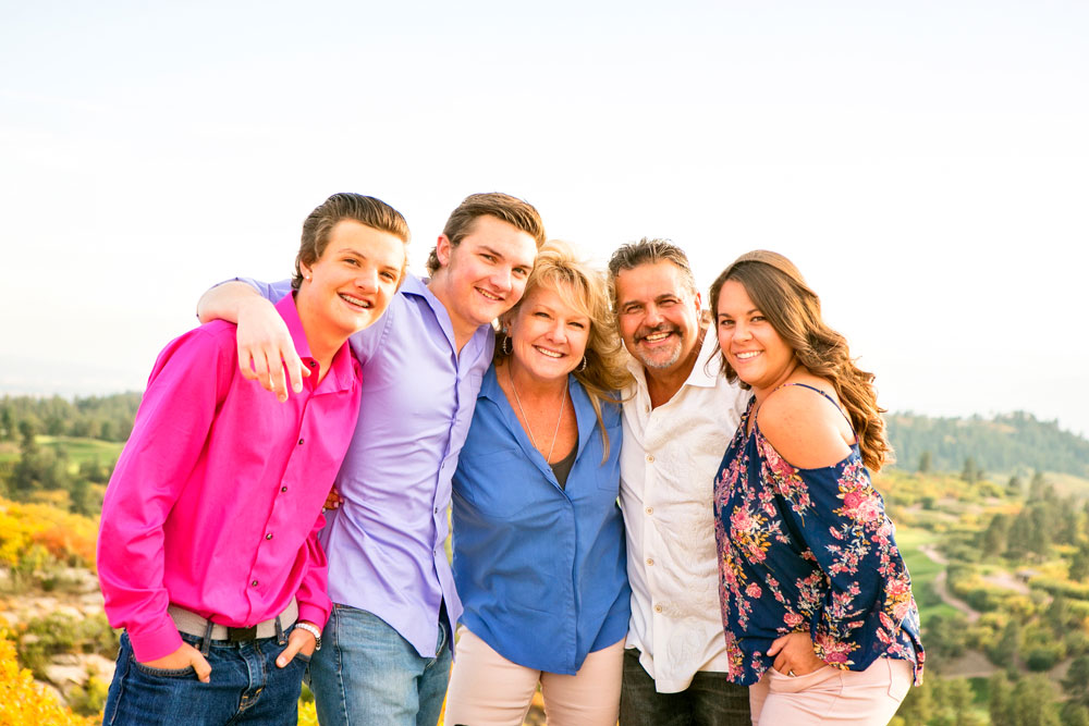 Photo of the Crane family