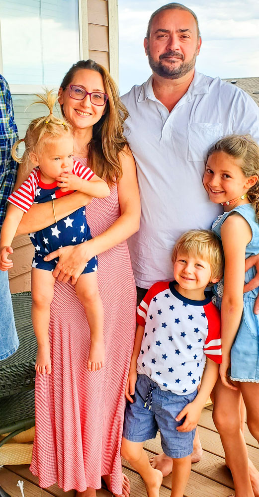 Photo of the Rabinovich family
