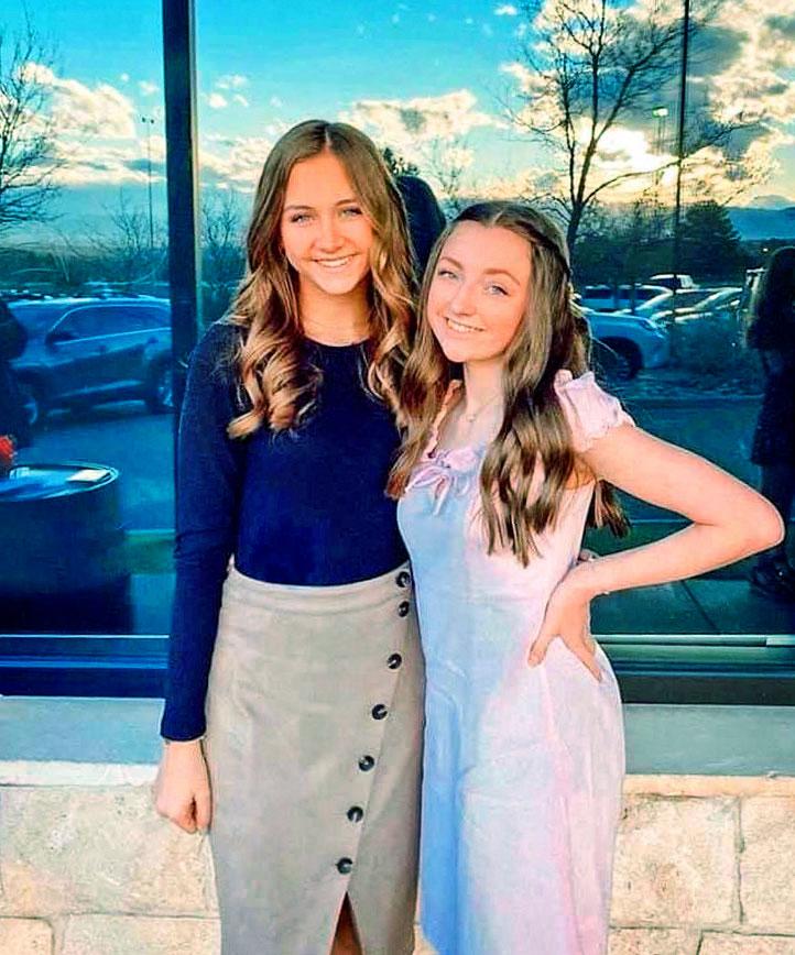 Photo of Annabelle Martin (left) and Brooke Ferrel