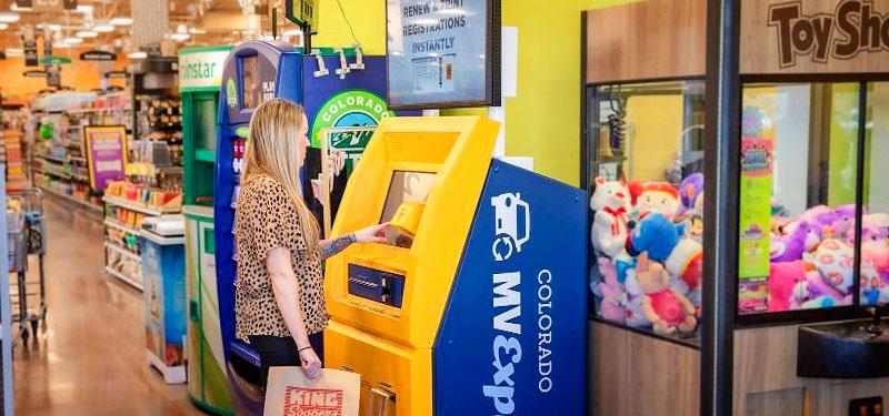 Photo of Colorado Vehicle registration kiosk