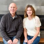 Photo of Robert and Barb Horst owners of 80108 Wine & Spirits