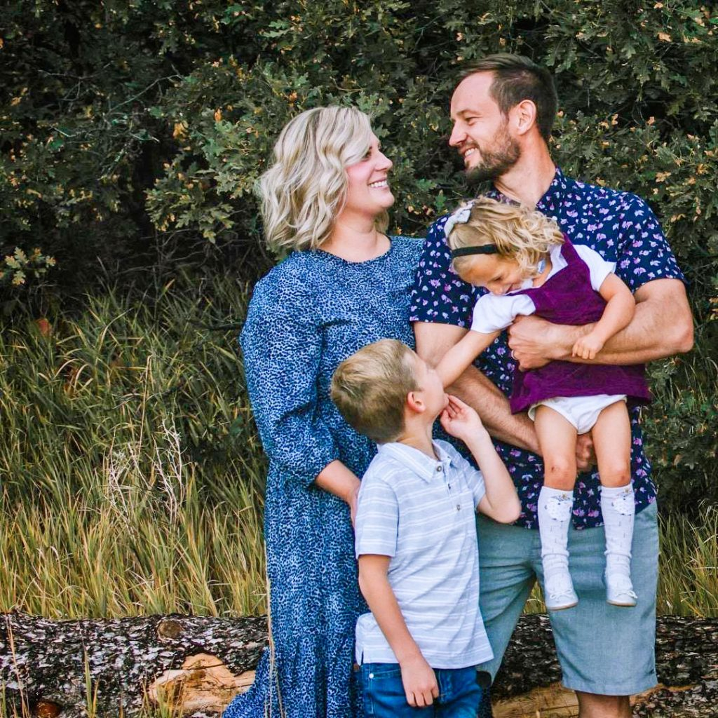 Photo of Tiffany Ball, pictured with her family, shared her Random Acts of Kindness