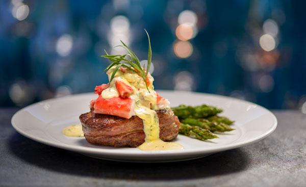 Eddie V's steak