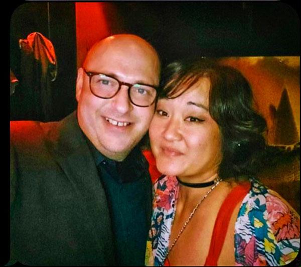 Photo of Erak Hillman and his fiancée, Susan Kim