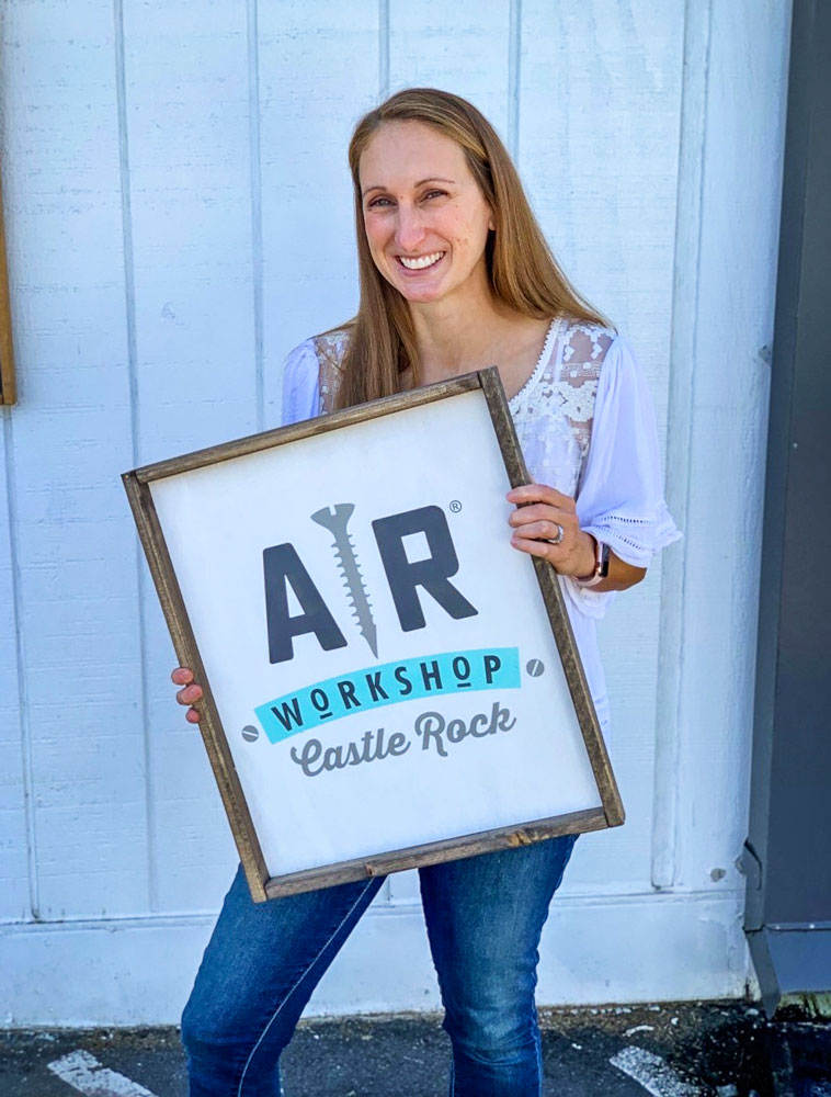 Photo of Castle Rock resident Kelly Tabaka will open AR Workshop Castle Rock