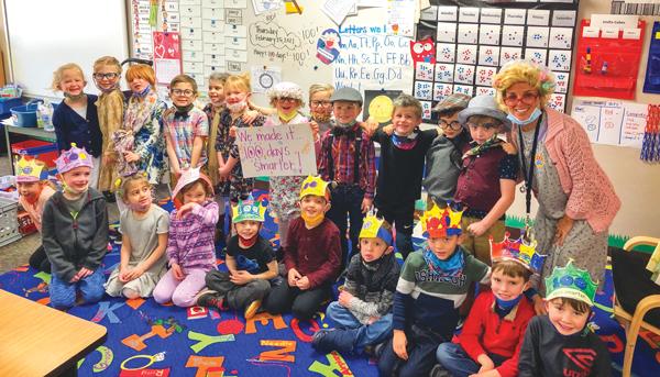 Mrs. Gale's kindergarten class