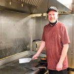 Photo of Roland Downs who was hired as a chef at MiYO Cafe