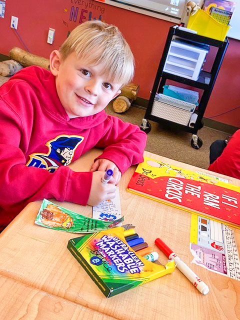 Photo of Tucker Sulya adds color and character to his Dr. Seuss