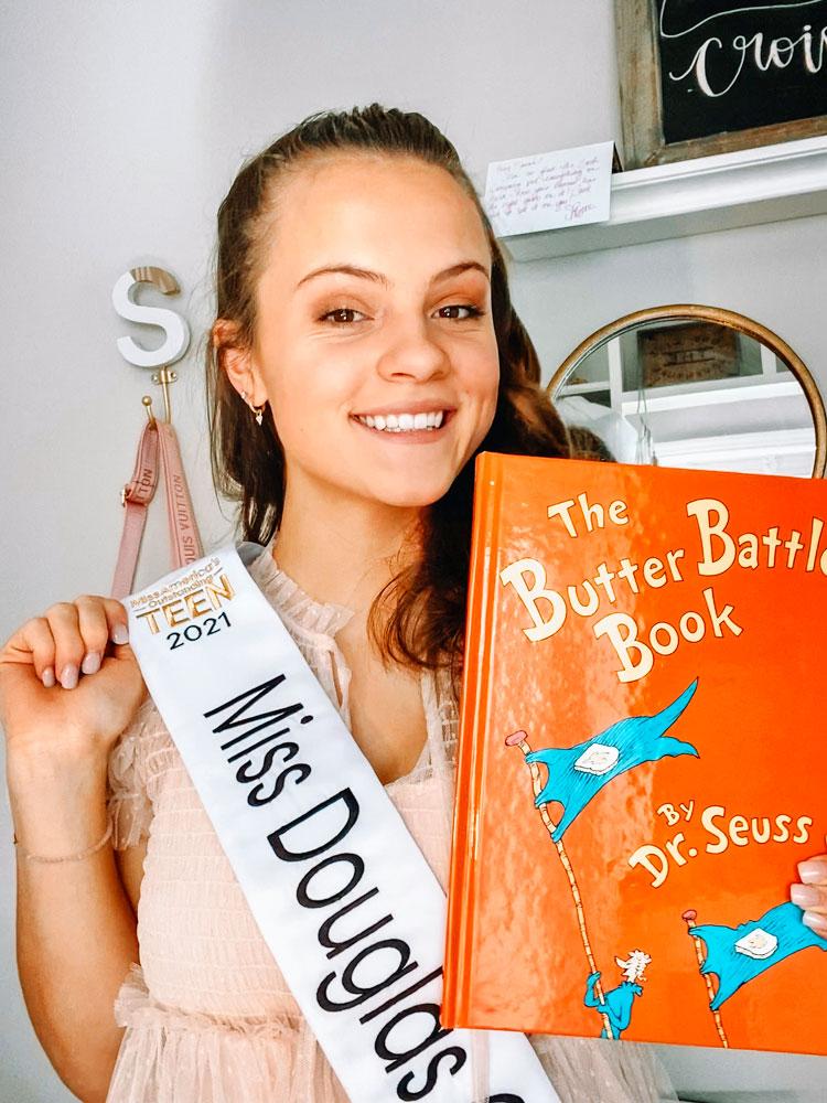 Miss Douglas County's Outstanding Teen, Sarah Swift