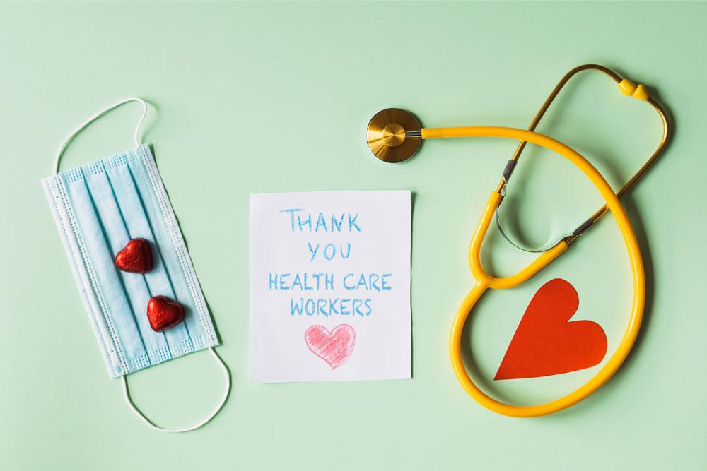 Thank You Health Care art