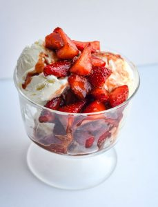 Balsamic Strawberry Compote