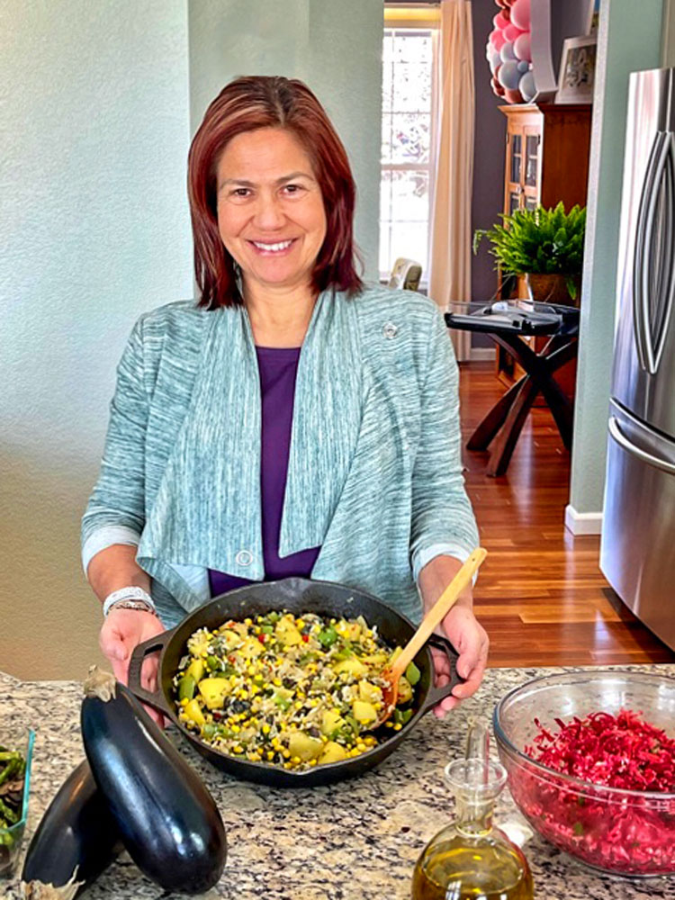 Photo of Hilda Trigoso loves cooking her favorite Peruvian recipes