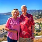 Photo of David DeFore and his wife, Kathy, in the Pacific Palisades