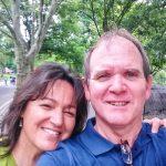 Photo of Marti Jones and her husband, Michael.