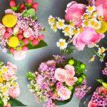 Photo of flower arrangements